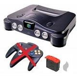 Nintendo 64 Konsole ohne Controller mit Expansion-Pack