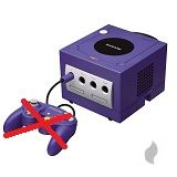 GameCube Konsole ohne Controller