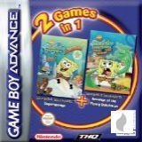 2 Games in 1: SpongeBob Squarepants + Flying Dutchman für Gameboy Advance