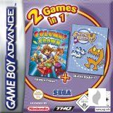 2 Games in 1: Columns + Chu Chu Rocket für Gameboy Advance