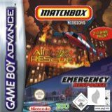 Matchbox Missions: Emergency Response & Air, Land & Sea Rescue für Gameboy Advance