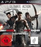 Ultimate Action Triple Pack: Tomb Raider, Just Cause 2, Sleeping Dogs für PS3