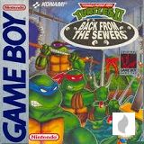 Teenage Mutant Hero Turtles II: Back from the Sewers für Gameboy Classic