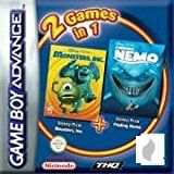 2 in 1: Disney Pixar Pack für Gameboy Advance